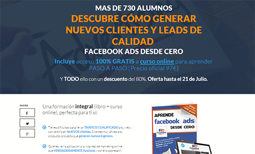 Vender con Facebook Ads