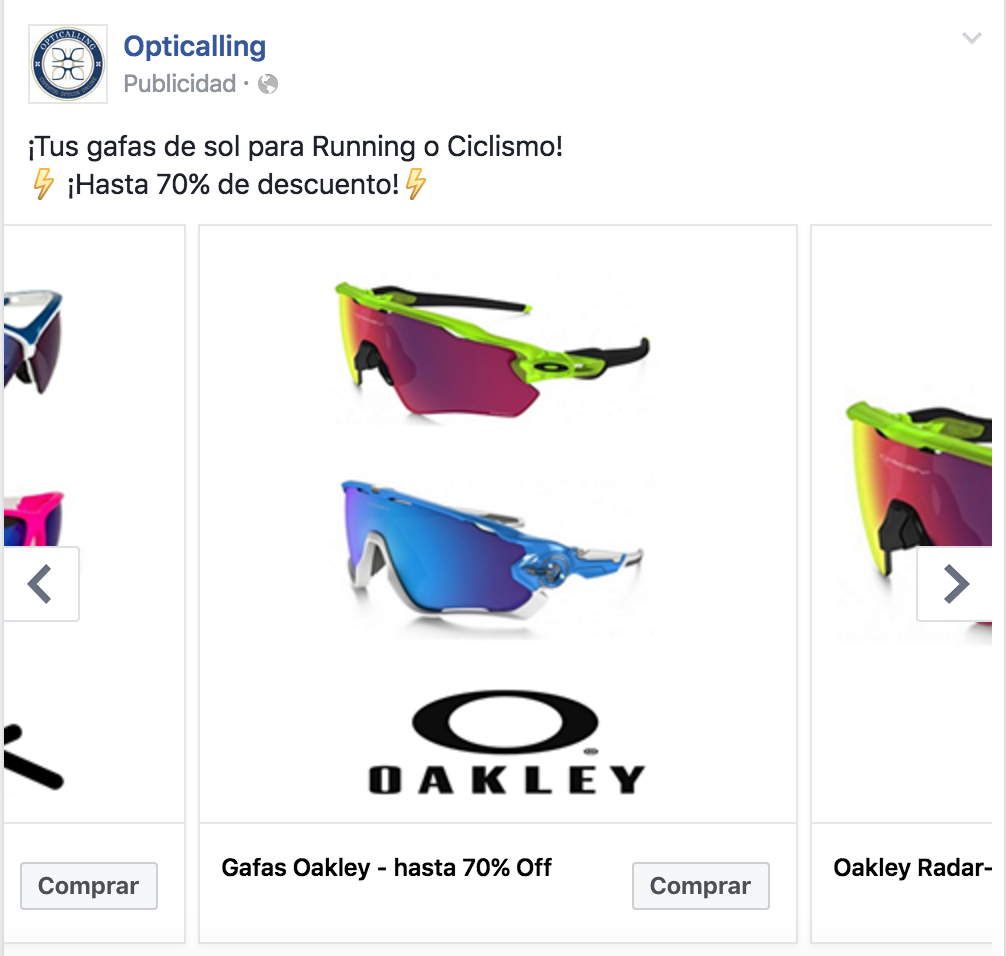Facebook Ads ecommerce